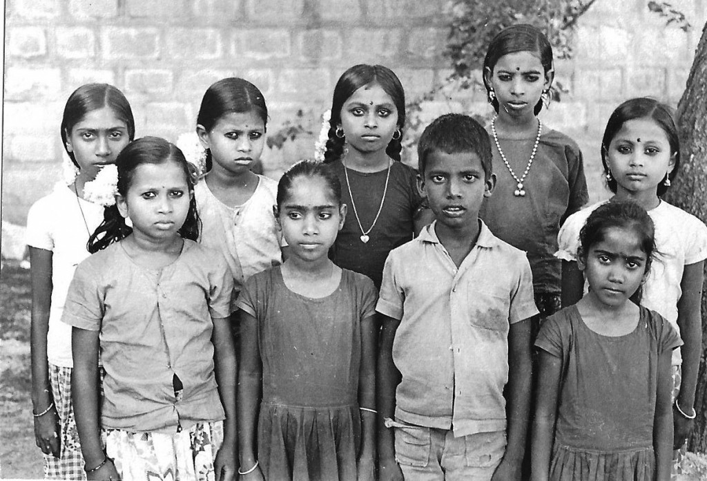 Children from Ramanthapur village near St John's Seminary whom I sent for study in various boardings.