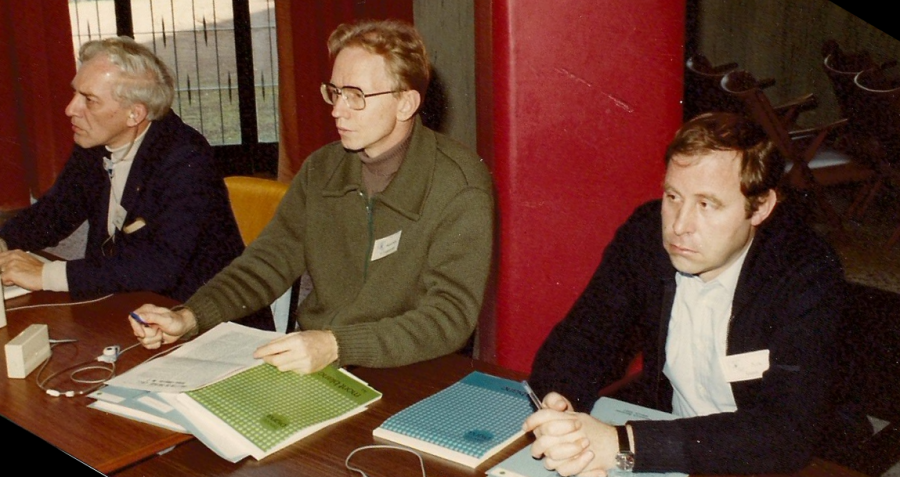Myself (in the middle) during a seminar session.